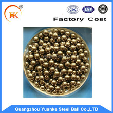 High quality products made of copper: reddish/ copper brass ball in optional size
