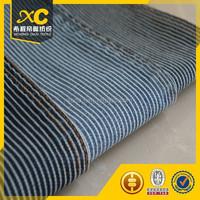 8oz cotton stripe denim fabric for fashion pants