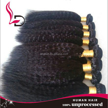 2015 new products in China 7A+grade brazilian human hair 100% human virgin hair brazilian hair yaki straight hair
