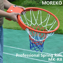Professional Break Away Basketball Rim ,Basketball Ring With Spring Case, 18mm Solid Steel MK-R8