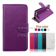 Hot selling mobile phone case design flip leather cover for HTC Desire 601