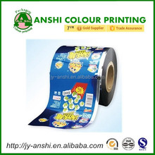 Bag making films roll automatic bopp packing films for food customized design