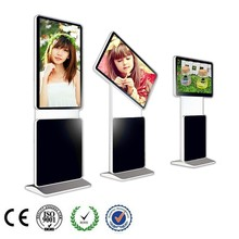 46 inch standing ads rotated lcd screen display