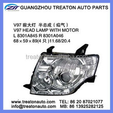 V97 HEAD LAMP WITH MOTOR 8301A845/8301A046 FOR MITSUBISHI V97 PAJERO 07-10