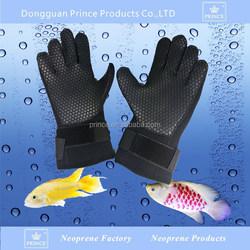 custom waterproof neoprene fishing gloves