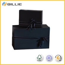 Superior Quality Paperboard Gift Box Black Rectangle