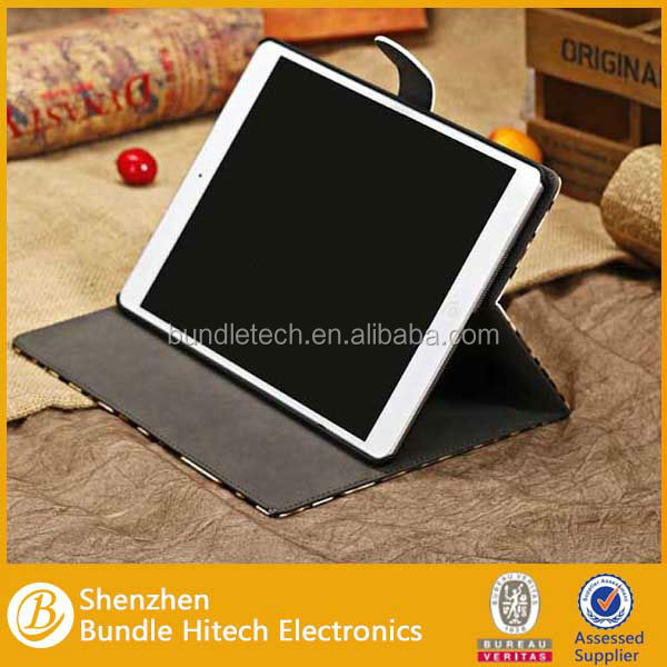Low price flip cover case for tablet, China supplier tablet leather case