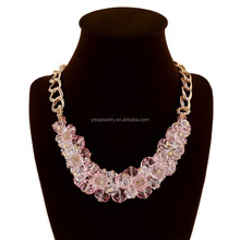wholesale hot selling fashion jewelry crystal clavicle syria necklace
