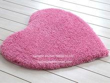Shaggy rugs Silk Rugs Heart Shaped Door Mat