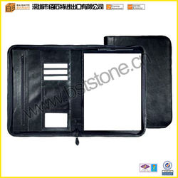 Zipper Portfolio with A4 Note Pad
