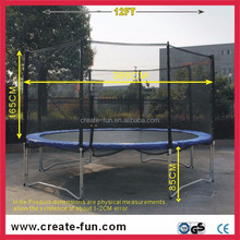 CreateFun adult large trampoline with safety net