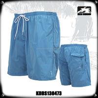 Light Blue Pants With Side Pockets Mens Beach Short Pants
