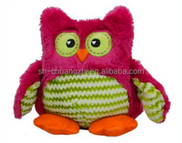 high quality pp cotton animal owl plush stuffed toys