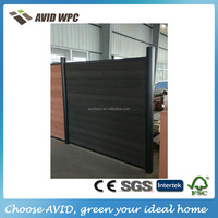 Professional wpc fence/ wpc wood fence/ wpc wood plastic fence