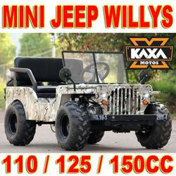 4x4 Kids Jeep 110cc