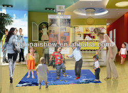Magic Floor/interactive floor for Entertainment/advertisement