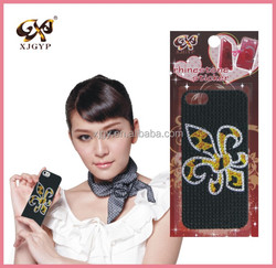 mobile phone vinyl sticker/phone decorative sticker/cell phone sticker skin