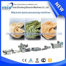 Automated various types pasta macaroni extruding machines