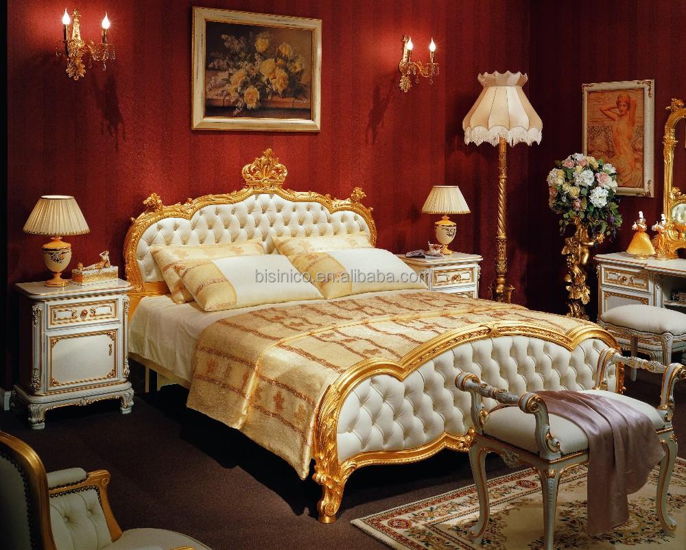 Bisini Luxury European Style Bedroom Set And Bedroom
