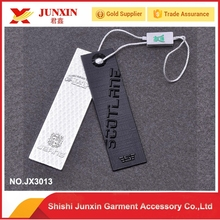 Wholesale Jeans paper swing hang tag for clothing