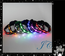 2015 Best Sale Led Dog Collar Manufactures Pet Collar Necklace Made In China