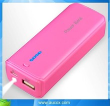 5600mah LED torch power bank for samsung galaxy note