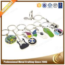 Factory direct Sale 3D Prommotion Souvenir Custom Keychain, Metal Keychains Wholesale