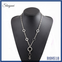 2015 latest design fancy mens bead necklace cheap sales fashion locket jewellery long chain necklace