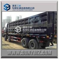 8X4 tipper truck HOWO dump truck 390hp 50T loading dumper van