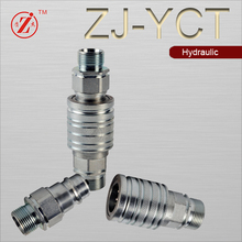high quality Steel Push & Pull types Hydraulic Quick Disconnect coupling Fittings supplier in China