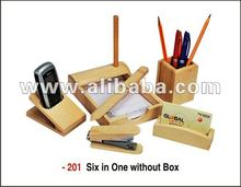 Promotional Gift - 6 in 1- Mobile, Pen, Card ,Letter Pad,Paper cutter n stapler