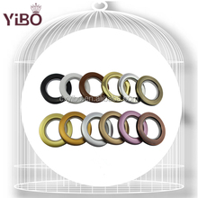 Decoration ring curtain accessories plastic curtain ring eyelets