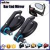 BJ-RM-022 Trade assurance supplier universal custom blue bar end motorcycle cnc mirrors