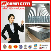 Cold Rolled Technique hot dipped galvanized corrugated sheet for metal Roofing and Siding