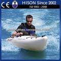hison 152cc 4 tiempos de fibra de vidrio de chorro en canoa 152cc sit on top kayak