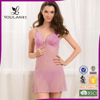 Short Deliverty Time Fantasy Noble Sweet Hot Sexy Transparent Nighty Sexy Lingerie