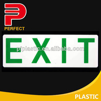 Plastic adhesive sign board design samples