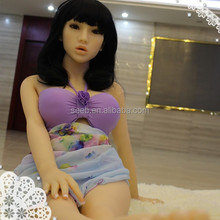 143cm TPE silicone real girl rubber shemale big ass sex doll