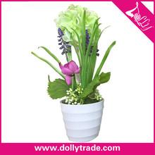 Venta al por mayor baratos pequeñas flores artificiales