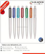 estrella ballpoint promotional pen; feather ballpoint pen; push action ball pen