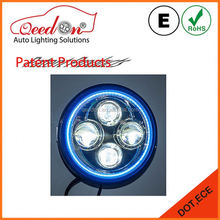 Qeedon easy installation with angel eyes high low beam functional led headlight