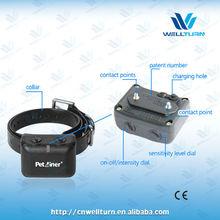 Rechargeable Waterproof Vibrating No Barking Pet Dog Collar