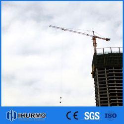 Popular manufacturer telescopic cranes qtz50 tower crane