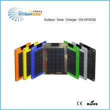 Outdoor solar charger OS-OP052B high efficient solar cell high quality with CE&RoHS