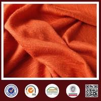 2015 New spandex slub knit compression garment fabric wholwsale