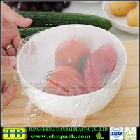 LLDPE clear protective food cling plastic wrap film