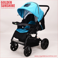 JINBAO high landscape China factory good baby stroller/baby carriage/baby carrier/pram/pushchair with patent wheels