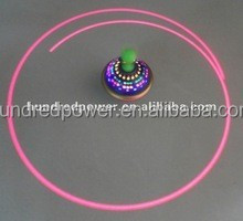 Led laser ufo spinning top with sound