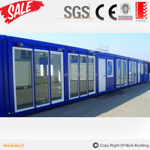 finished container house plans luxury