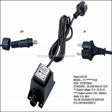 12V waterproof transformer 230v ac to 12v ac transformer